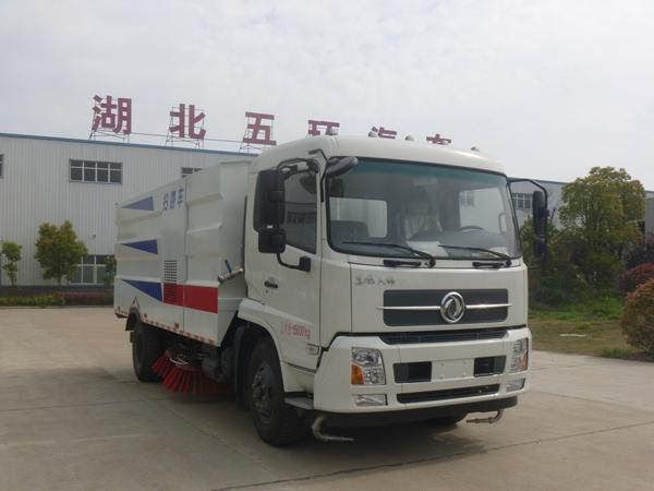 东风天锦扫路车(3.5方水7垃圾)